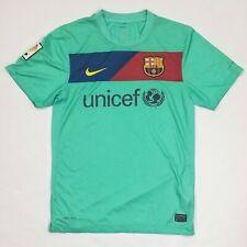 2010-11 FC Barcelona Football Away Shirt Kit Soccer Jersey FCB Barca NIKE Small