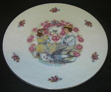 Collector Plate 1977 Royal Doulton Bone China My Valentine w Verse Victorian