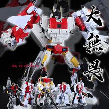 Transforms JJ-02 Jet Commander G1 Superion Combination Robot Action Figure Toy