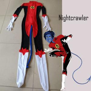 Nightcrawler Kurt Wagn Spandex Superhero Costume Halloween Cosplay Costume