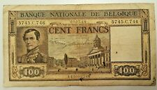 BELGIUM  100 Francs 1948  P - 126      BELGIQUE CENT FRANCS - 1948