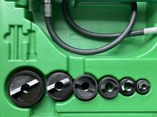 Greenlee 7306sb Hydraulic Knockout Knock Out Punch Driver Set 12 2