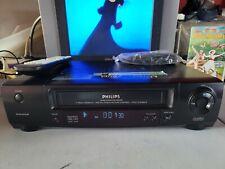 VIDEOREGISTRATORE VHS PHILIPS VR400 EX DEMO PERFETTO IN TUTTO CON TELECOMANDO
