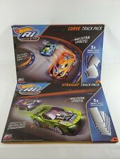 NEW HOT WHEELS Ai INTELLIGENT RACE SYSTEM STRAIGHT & CURVE TRACK EXPANSION PACK