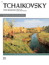 Tchaikovsky The Seasons-Hinson, Piano Solo, ALFRED - 4826