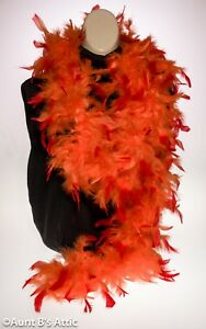 """Feather Boa Colorful Chandelle Feather Boas 55-60gr 72"""" Long Costume Accessory"""