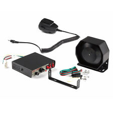 2017 Car 200W 8 Tones Warning Alarm Police Fire Siren Horn PA Speaker MIC System