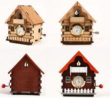 CUCKOO HOUSE CLOCK ORGEL / WOODEN MODEL KIT