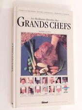 Les Meilleures recettes des Grands Chefs Rhône-Alpes Éditions Glénat 1987