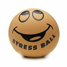 SMILEY STRESS FACE BALL - RELIEF ADHD AUTISM RELIEVER HAND EXERCISE