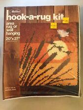 """Sealed Vintage Malina Marshlands Latch Hook Rug Kit #25/28 20"""" x 27"""" Usa"""