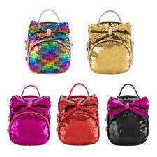 4d16b3c115 Women Girls Handbag Sequins Glitter Backpack Rucksack Travel Shoulder  School Bag