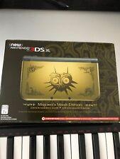 Brand New Legend of Zelda: Majora's Mask Limited Edition Nintendo 3DS XL