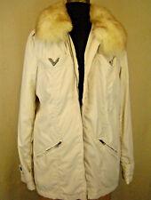 VALENTINO RED Fur-Collar NWT Light Puffer Coat/Parka/Jacket 42 (8)