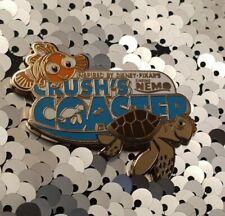 DISNEY Rare Finding Nemo Crush's Coaster Disneyland Paris Official Trading Pin