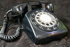 Vintage black Rotary Telephone Western Electric