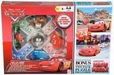 Disney Cars Pop up Kids Board Game Frustration & Bonus 2 Lenticular Puzzles