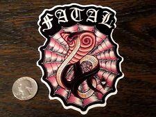 FATAL CREW King Cobra Snake Sticker Car Window Decal West Coast Tattoo Skin Ink