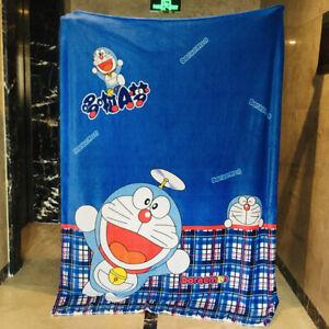 doraemon blue fuzzy Blanket Throw bed Blankets nap quilt quilts 150X200CM anime