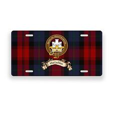 MacLachlan Scottish Clan Novelty Auto Plate Tag Family Name License Plate