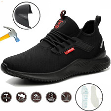 Safety Shoes Trainers Men Women Lightweight Steel Toe Cap Work Hiking Boots NEW