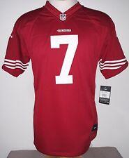 Nike SAN FRANCISCO 49ERS #7 COLIN KAEPERNICK NFL Players Boys Jersey XL