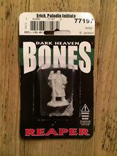 Reaper, Bones, Dark Heaven miniature: Erick, Paladin Initiate