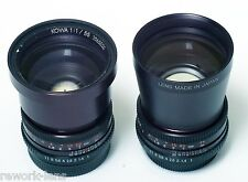 Kowa 55/1.0 soft lens for video on Micro 4/3 Black Magic