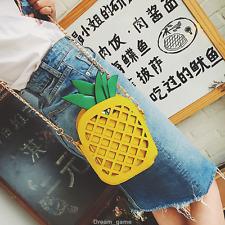 US SHIP! Hot Women Fashion Pineapple Bag Crossbody Shoulder Bags Girl's Gifts