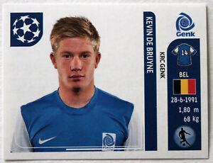PANINI ROOKIE Sticker Card KEVIN DE BRUYNE # 388 Champions League 2011/2012 RARE