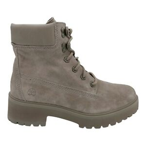 TIMBERLAND CARNABY COOL 6 INCH BOOT TAUPE SUEDE WOMEN'S SIZE US 7 NEW