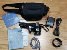 Sony Cyber-shot DSC-H5 7.2MP Digital Camera-User Guide-CD-Battery Charger-Case+