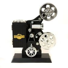 New Pro Etrade Classical Film Projector Music Box of Model Mechanical With Black
