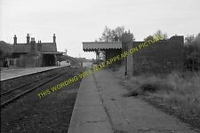 Heacham Railway Station Photo. Hunstanton - Snettisham. Kings Lynn Line. (16)