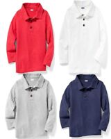 Clearance Sale Old Navy Long Sleeve Jersey Polo for Toddler Boys!