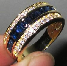 HOT Women Ladies Stainless Steel/ Alloy Crystal Rhinestone Wedding Band Ring