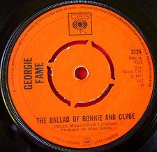 "Georgie Fame Ballad Of Bonnie & Clyde 7""UK ORIG 1967 CBS Beware Of The Dog VINYL"