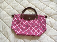 Longchamp Limited Ed'n Horse & Buckle Pink Nylon Bag - Retired. New w/oTags