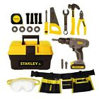 Stanley Jr. Mega Tool Set with Battery Operated Drill and Tool Belt