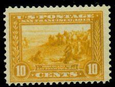 US #400 10¢ yellow orange, og, NH, F/VF, Scott $250.00