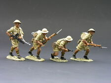 King and Country EA009 WWII British 8 Army North Africa Corps Advance Under Fire