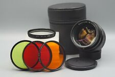 Leica Noctilux M 50mm f1.0 V3 E60 M Mount Lens with Green Orange Red Filters