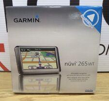 Garmin Nuvi 265WT GPS Navigation System Bundle w. Car Charger and Mount