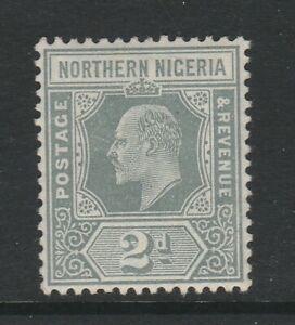 Northern Nigeria 1910-11 2d Grey SG 30 Mint.