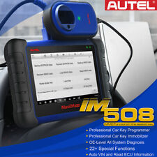 Autel IM508 OBD2 Auto Diagnostic Scanner Tool IMMO ECU Adaptation Key Read&Write