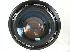 Sony Wide Angle Conversion xo.7 VCL-0758A