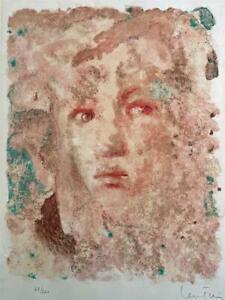 LEONOR FINI (1907-1996) Pencil Signed Lithograph 53/220 - FEMALE PORTRAIT