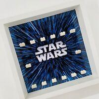 Display case Frame for Lego Star Wars logo minifigures no figures 27cm