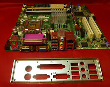 HP DC5100 403714-001 398550-001 Motherboard Complete With I/O Backing Plate