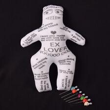 EX Lover Doll Voodoo Doll Revenge Spell with 7 pcs Skull Pins